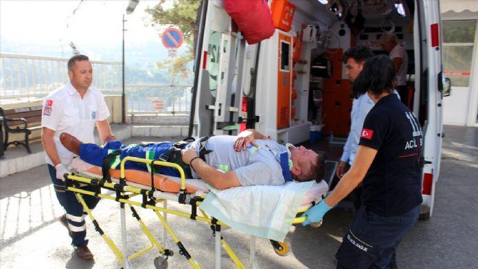 Bodrum'da zincirleme trafik kazası: 5 yaralı