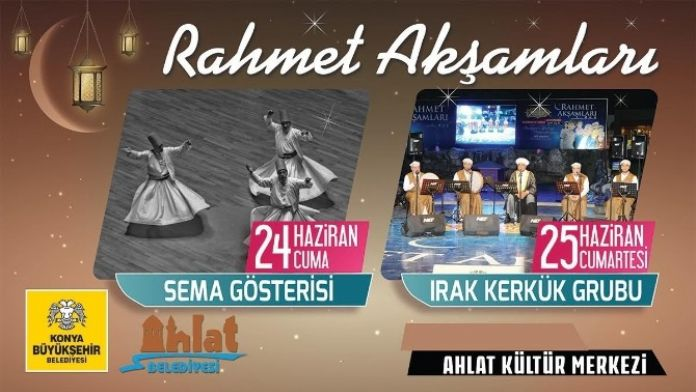 Ahlat'ta Ramazana Özel Program Düzenecek