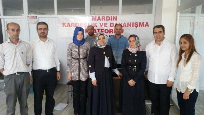 AK Partili Alkış Terör Mağdurları İle Bir Araya Geldi