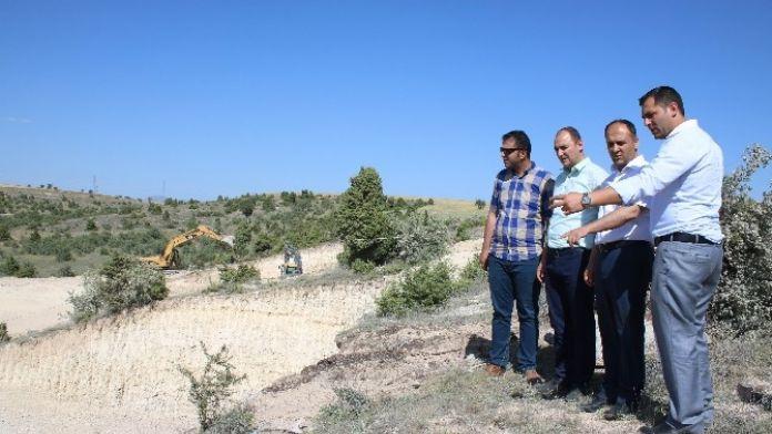 Beyşehir'de 2. Etap TOKİ Konutlarının İnşaatı Başladı