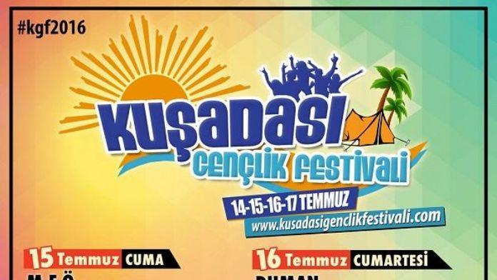 Kuşadası'nda dev müzik festivali