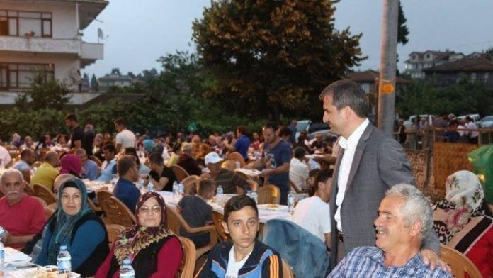 Akçakoca Orhangazi Mahallesi Halkıyla İftar Açıldı