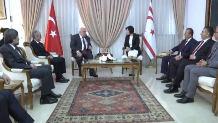 Bakan Avcı KKTC Meclis Başkanı ile görüştü