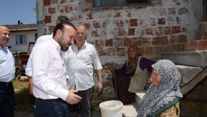 Başkan Doğan İlçedeki Köyleri Ziyaret Etti