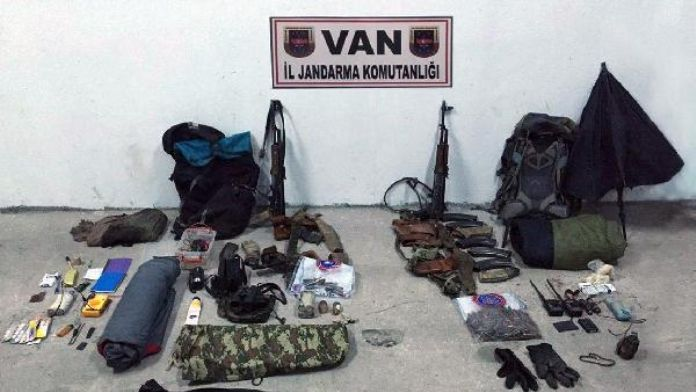 Çaldıran'da çatışma: 2 PKK'lı terörist öldürüldü