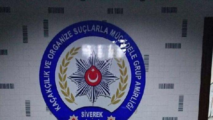 Siverek'te LPG tankındaki 11 kilo esrara 3 gözaltı