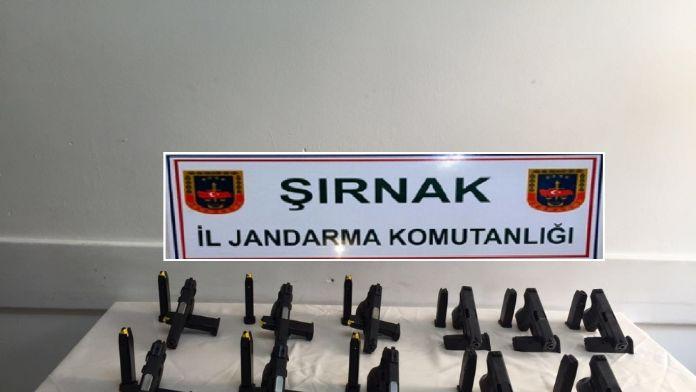 PKK'nın hayalet silahları ele geçirildi