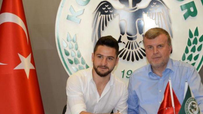 Atiker Konyaspor, Öme Ali Şahiner ile yeniden sözleşme imzaladı