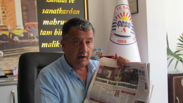Başkan Köfüncü'den kaldırım ihlali açıklaması