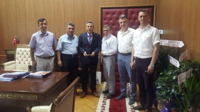 Bozüyük Girişimciliği Destekleme Derneğinden Vali Elban'a Ziyaret