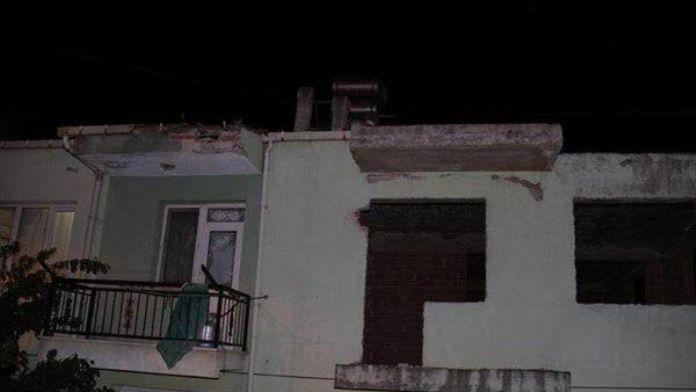 İzmir Bayındır'da roketli saldırı - fotoğraflar