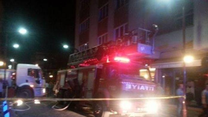 Giresun'da Gece Yarısı Çıkan Yangın Korkuttu