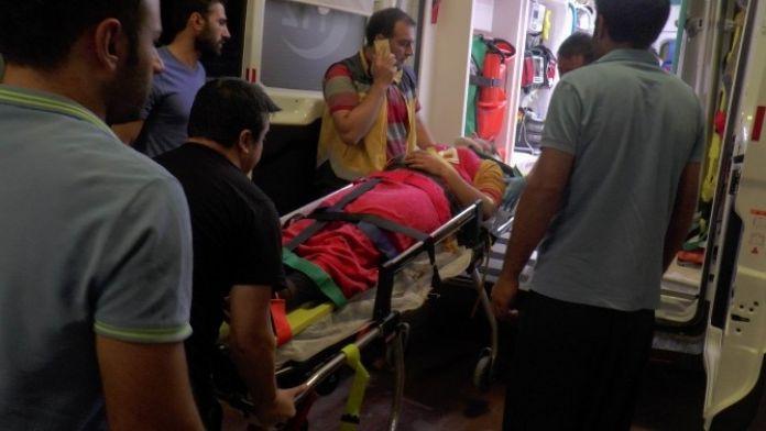 İftar Dönüşü Şarampole Yuvarlanan Araçtaki 6 Kişi Yaralandı