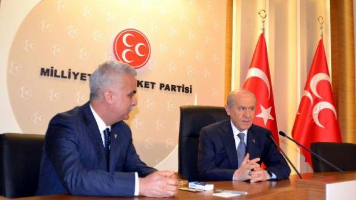 MHP Adana İl Başkanı Baş: 'Bahçeli'nin yanındayız'