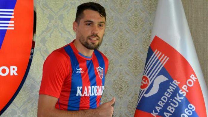 Kardemir Karabükspor Valerica Gaman'la sözleşme imzaladı