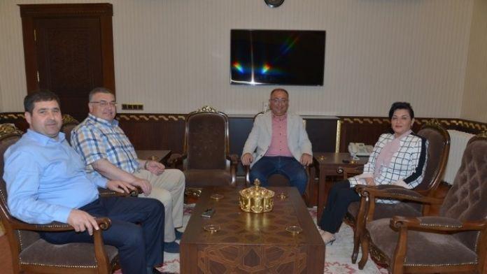 Belediye Başkanlarından Kırklareli Valisi Civelek'e Ziyaret