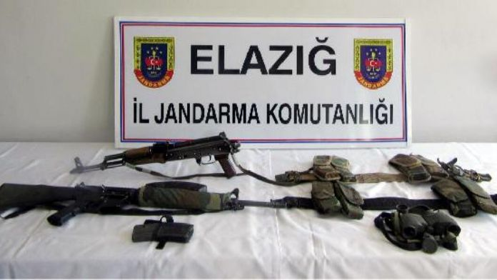 Elazığ'da 1'i grup sorumlusu 2 PKK'lı ölü ele geçirildi - ek fotoğraf