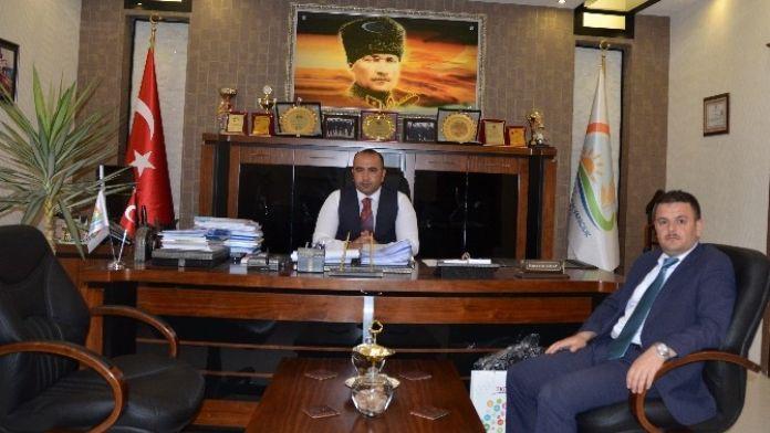TKDK Koordinatörü Zülgari Özdemir, Gıda Tarım Ve Hayvancılık İl Müdürü Hüseyin Arap'ı Ziyaret Etti