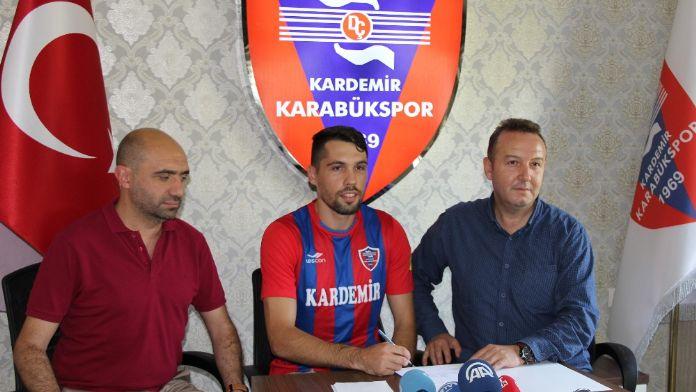 Karabükspor Rumen Gaman ile 3 yıllık sözleşme imzaladı