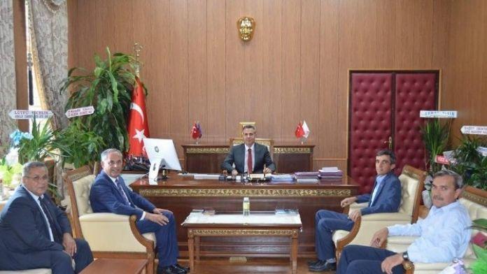 Başkan Yaman'dan Vali Elban'a Ziyaret