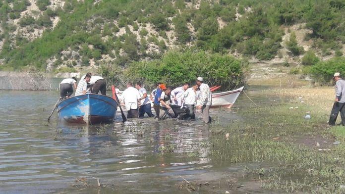 2 çocuk girdikleri barajda boğuldu