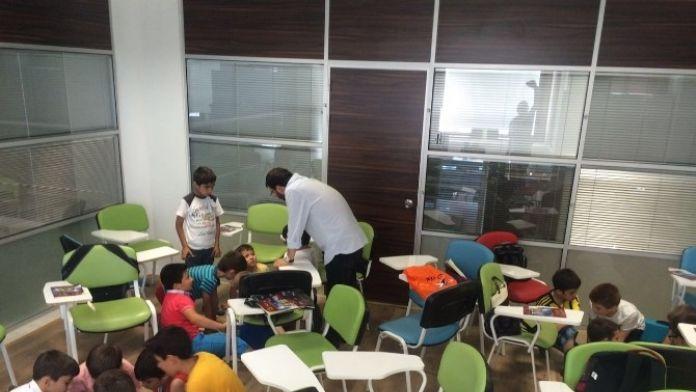 Ramazan Okulu'nda Dersler Başladı
