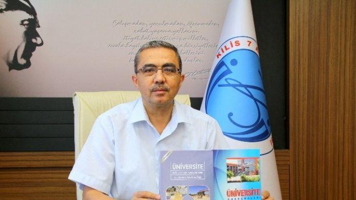 Rektör Güvenç Üniversitenin Kuruluş Çalışmalarını Kitap Olarak Yayınladı