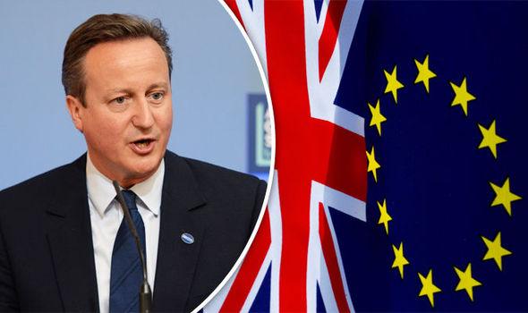 Başbakan Cameron İstifasını verdi.