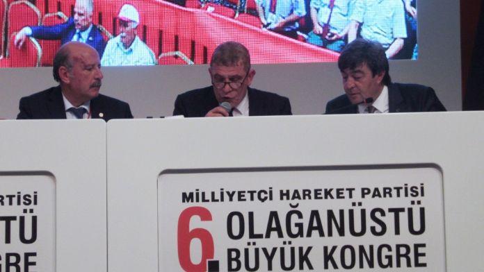 MHP'nin çağrı heyetine ceza !