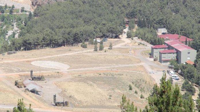 Suriye sınırında hava savunma sistemi devreye girdi