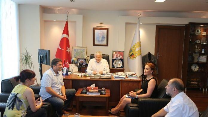 Bulgaristan İşverenler Ve Sanayiciler Konfederasyonu- Krıp Haskovo Bölge Başkanı Dimitrov, ETSO'yu Ziyaret Etti