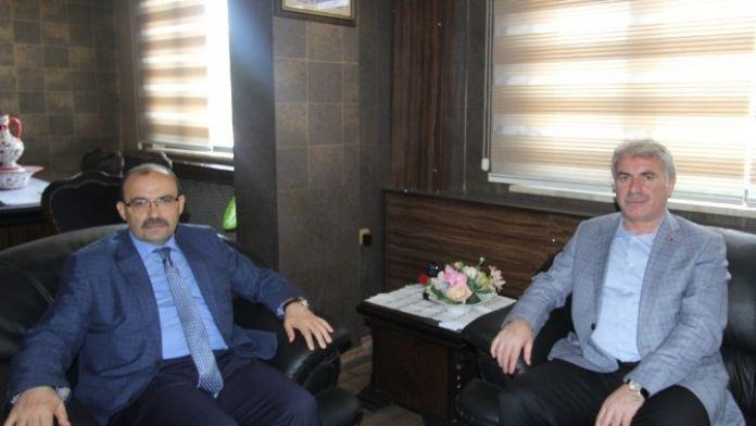 Vali Ustaoğlu'ndan Başkan Memiş'e Ziyaret