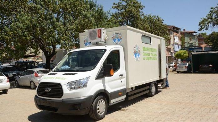 Dinar Belediyesi Araç Filosuna Bir Yeni Araç Daha Eklendi