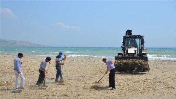 Gelibolu'da Sahil Temizlikleri Devam Ediyor