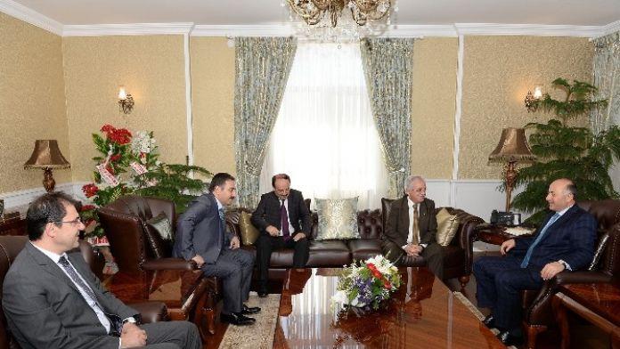 ETÜ Rektörü Yaylalı'dan Vali Azizoğlu'na Ziyaret