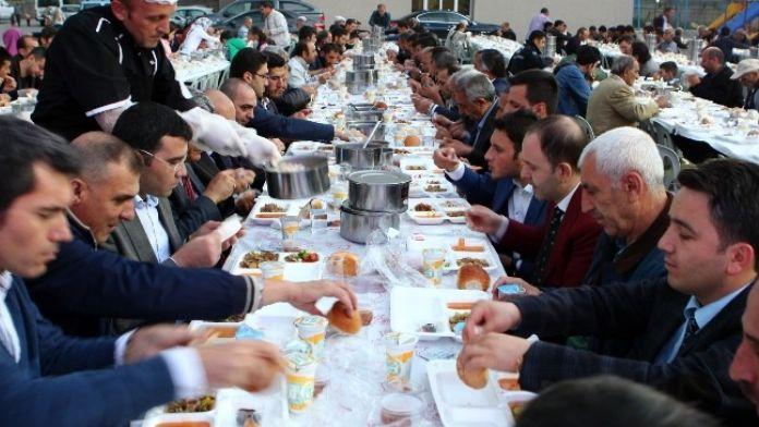 Tortum'da Birlik Ve Kardeşlik Sofrası