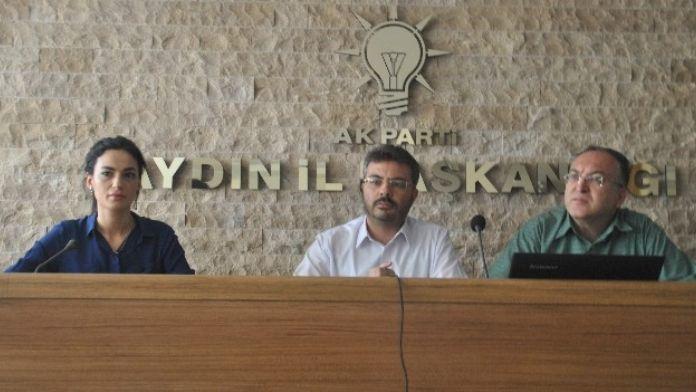 Aydın AK Parti'de Siyaset Akademisi Kayıtları Başladı