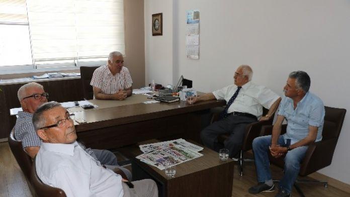 Türkiye Sulama Birliği'nden Güzgülü'ne Ziyaret