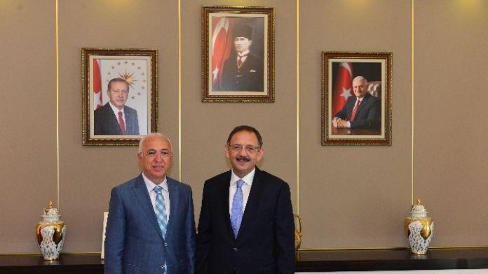 KTO Heyetinden Bakan Özhaseki'ye Ziyaret