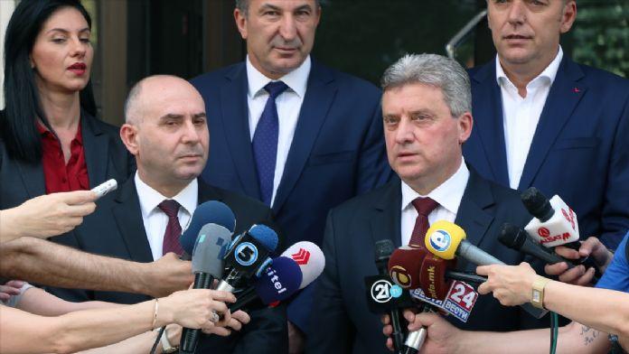 Makedonya Cumhurbaşkanı İvanov'dan 'sığınmacı' uyarısı