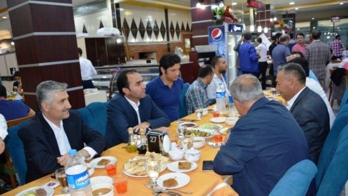 Kaymakam Erkan, TEOG İzleme Komisyonu İle İftar Yemeğinde Bir Araya Geldi