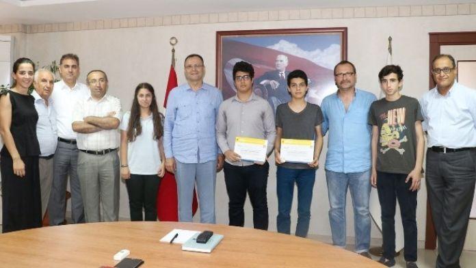 MTSO'dan İngilizce Ve Matematikte Başarılı Öğrencilere Eğitim Ödülü