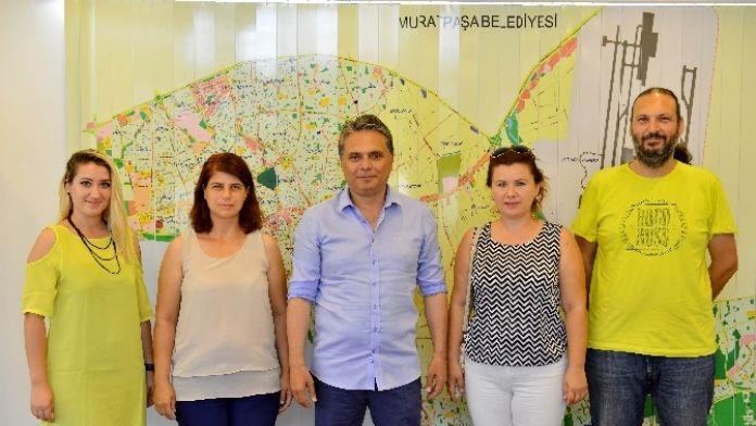 Peyzaj Mimarlarından, Başkan Uysal'a Ziyaret
