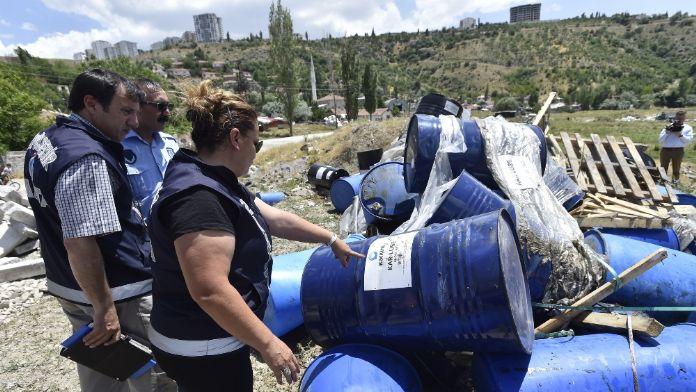 Ankara'da 'kimyasal madde' operasyonu