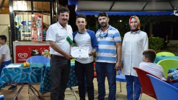 Biga'da Karate Kuşak Töreni Düzenlendi