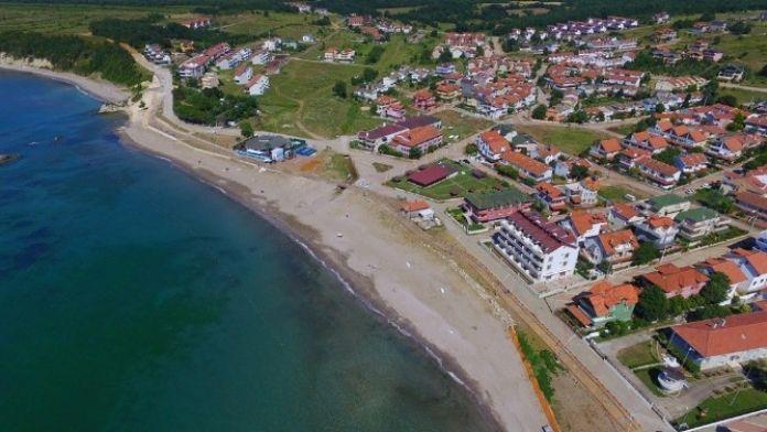 Mavi Bayraklı Cebeci Halk Plajı'nın 3. Etabı Tatilcileri Bekliyor