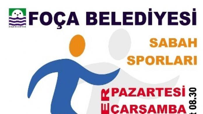Foça'da Sabah Sporları Başlıyor