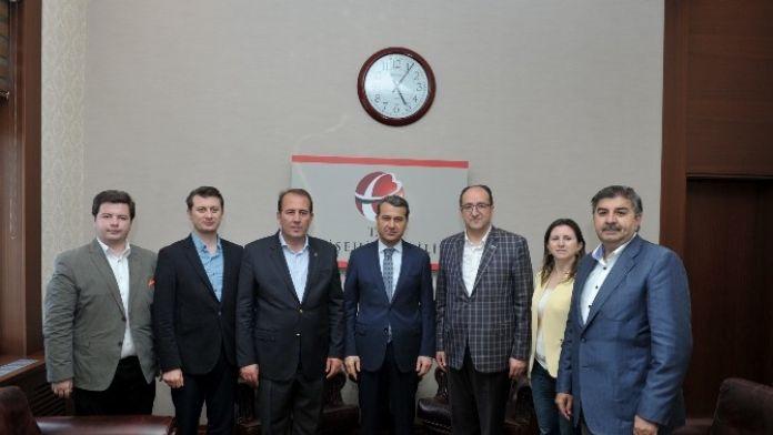 Milletvekili Karacan Ve AK Parti İl Teşkilatı'ndan Vali Çelik'e 'Hayırlı Olsun' Ziyareti
