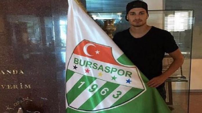 Bursaspor'un yeni transferi Sinan Bakış Özlüce'de