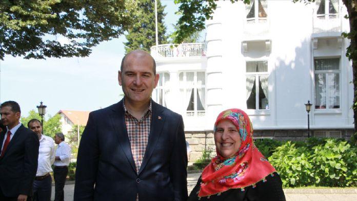 Çalışma ve Sosyal Güvenlik Bakanı Soylu Trabzon'da